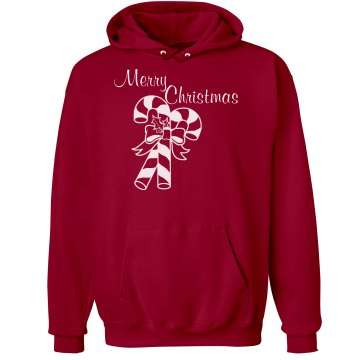 Merry Christmas  Unisex Hanes Ultimate Cotton Heavyweight Hoodie
