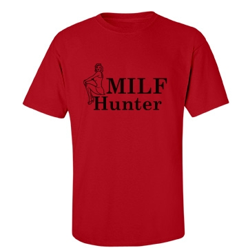 MILF Hunter Unisex Gildan Heavy Cotton Crew Neck Tee