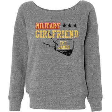 Military Girlfriend Misses Relaxed Fit Bella Tr