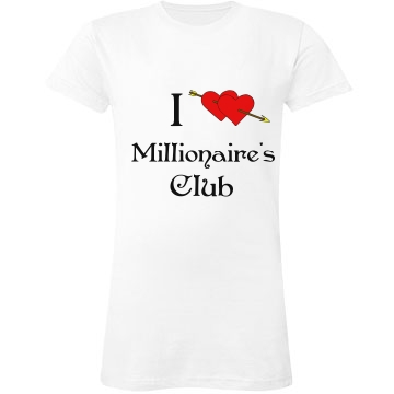 Millionaire's Club Junior Fit LA T Fine