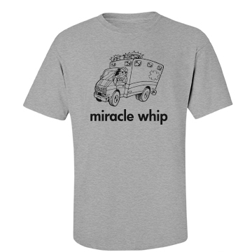 Miracle Whip Unisex Basic Port & Company Essential Tee
