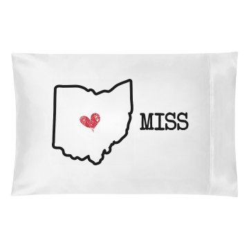 Miss You Pillow Ca