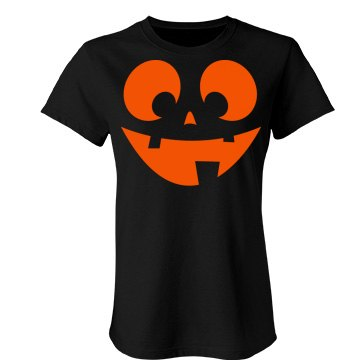 Mom Pumpkin Junior Fit Bella Favorite Tee