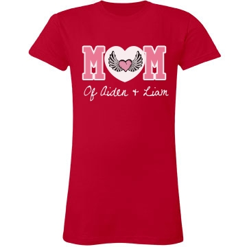 Mom Tee With Heart