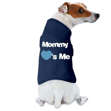 Mommy Loves Me Dog Tee Doggie Skins Dog Ta