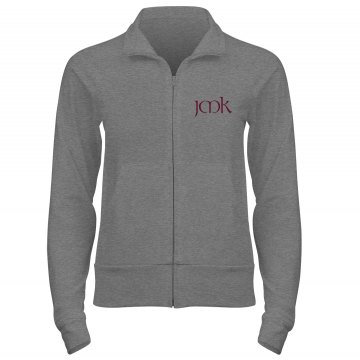 Monogram Gift Junior Fit Bella Cadet Full Zip Track Jacket