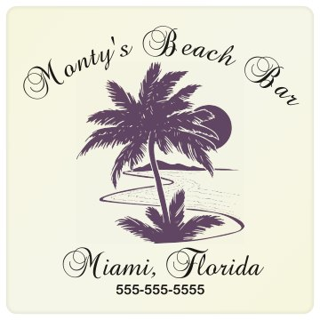 Monty Beach Bar Business