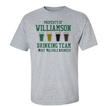Most Valuable Drinker Unisex Basic Gildan Heavy Cotton C