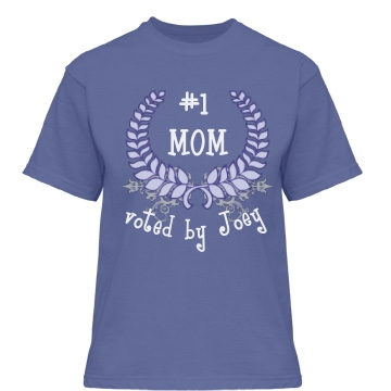 Mother's Day T-Shirt Misses Relaxed Fit Gildan Heavy Cotton Tee