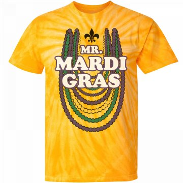 Mr. Mardi Gras Bead Boy