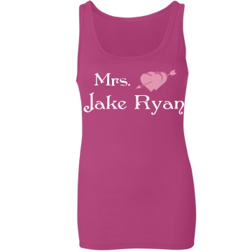 Mrs. Jake Ryan Junior Fit Bella Sheer Longer Length Rib Tank Top