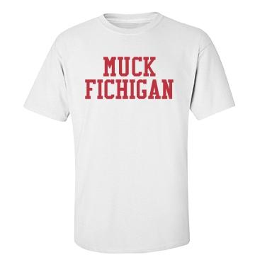 Muck Fichigan on White