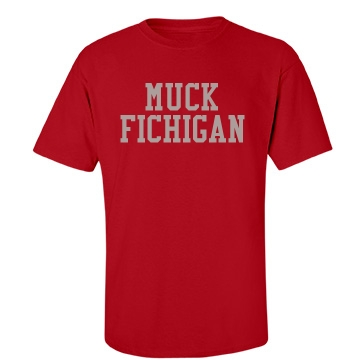 Muck Fichigan-mens Unisex Gildan Heavy Cotton Crew Neck T