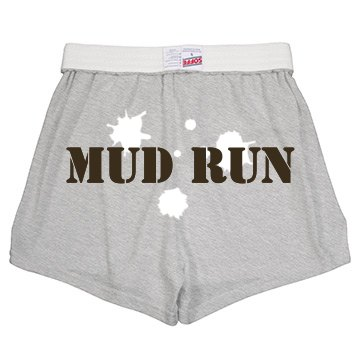 Mud Run Shorts Junior Fit Soffe Cheer Shorts