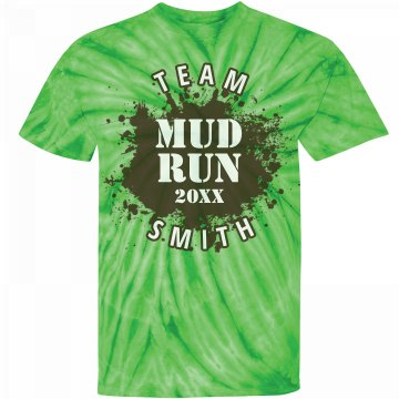 Mud Run Team Tee Unisex