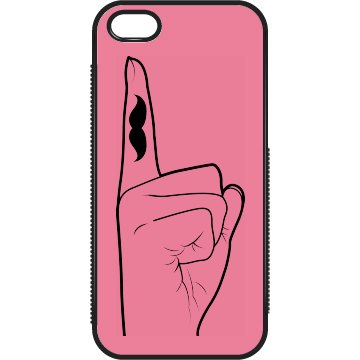 Mustache Finger Case