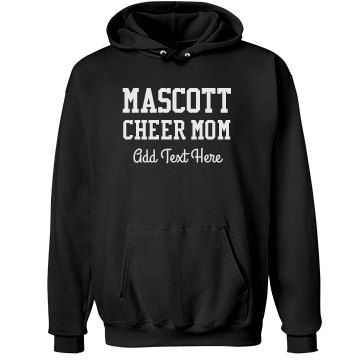 Mustangs Cheerleader Mom Unisex Hanes Ultimate Cotton Heavyweight Hoodie