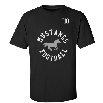 Mustangs Football Unisex Port &