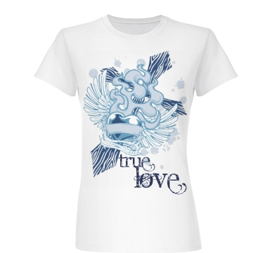 My Christian Love Junior Fit Basic Bella Favorite Tee
