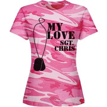My Love Pink Camo