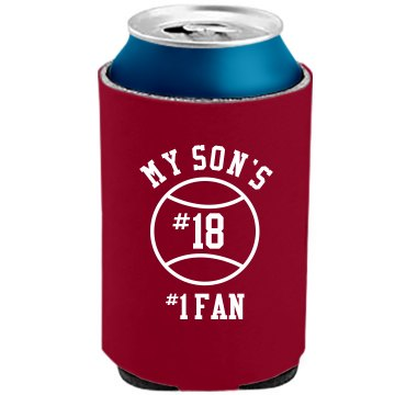 My Son's #1 Fan Koozie