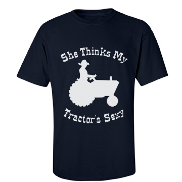 My Tractors Sexy-mens Unisex Gildan Heavy Cotton Crew Neck Tee