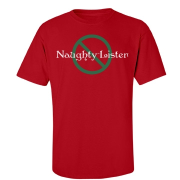 Naughty Lister Unisex Gildan Heavy Cotton Crew Neck Tee