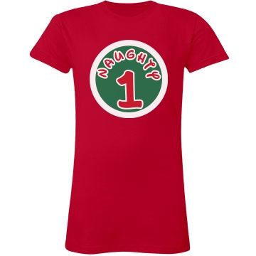 Naughty Thing Junior Fit LA T Fine Jersey Tee