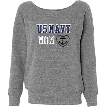 Navy Mom Sweater