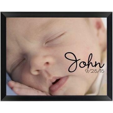Newborn Baby Photo Gift