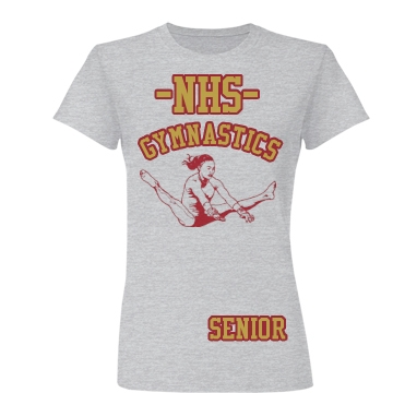 NHS Gymnastics Junior Fit Basic Bella Favorite Tee