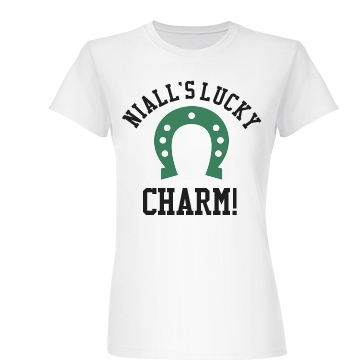 Niall's Lucky Charm Junior Fit Basic Bella Favorite Tee
