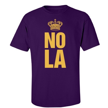 Nola Unisex Gildan Heavy Cotton Crew Neck Tee