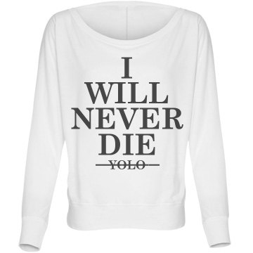 Not So YOLO Bella Flowy Lightweight Long Sleeve Dolman