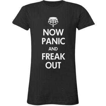 Now Panic & Freak Out Junior Fit LA T