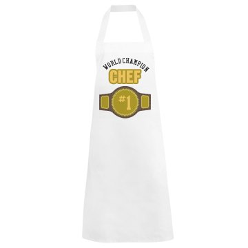 Number One Chef Apron