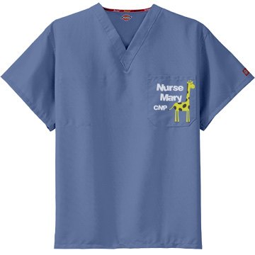 Nurse Mary Scrub Top
