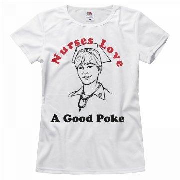 Nurses Love a Good Poke