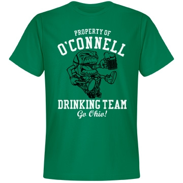 O'Connell Drinking Team Unisex Anvil Lightweight Fashion Tee