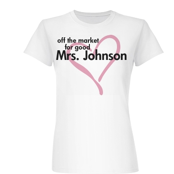 Off The Market For Good Junior Fit Basic Bella Favorite Tee