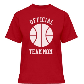 Official Team Mom Misses Relaxed Fit Gildan Heavy Cotton Tee