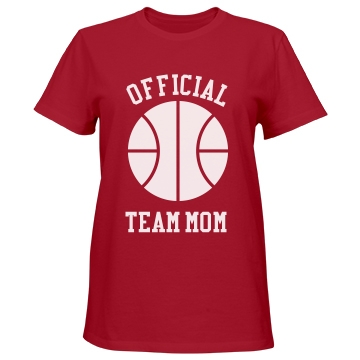 Official Team Mom Misses Relaxed Fit Port & Company Essential Tee