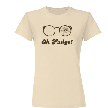 Oh Fudge! Junior Fit Basic Bella Favorite Tee