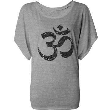 Ohm Flowy Yoga Tee