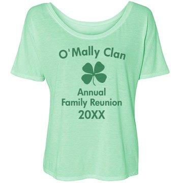 O'Mally Clan Bella Flowy Lightweight Simple Tee