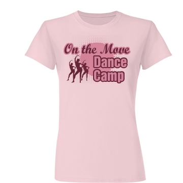 On The Move Dance Camp Junior Fit Basic Bella Favorite Tee