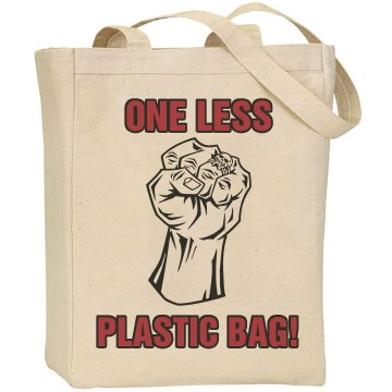 One Less Plastic Bag