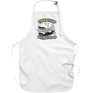 One Stop Burger Apron