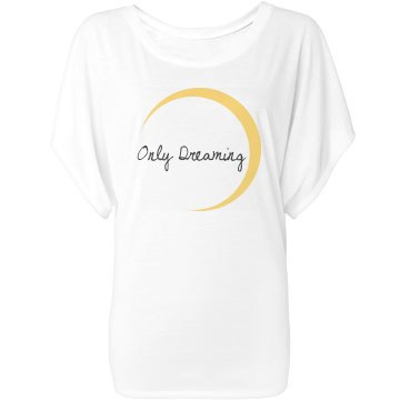 Only Dreaming Bella Flowy Lightweight Draped Sleeve Dolman
