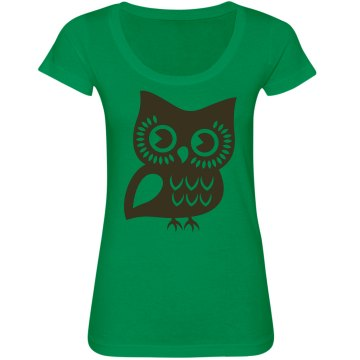 Owl Graphic Top